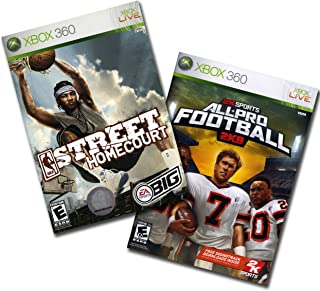 NBA Street Homecourt & All Pro Football 2K8 - Xbox 360
