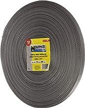 Wolfpack 5250005 rolluikriem, 14 mm, rol met 50 meter, grijs