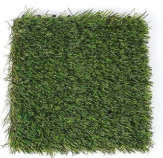 3rd Street Inn Artificial Grass Tiles - Artificial Turf - Fake Grass Interlocking Patio Tiles - 12