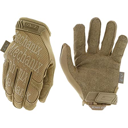 Mechanix Wear: The Original Coyote Tactical Work Gloves (Medium, Brown)