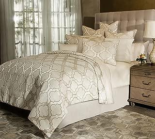 Michael Amini BCS-KS10-SPCTRM-PERL Spectrum 10pc King Comforter Set Pearl,