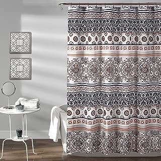 Lush Decor Nesco Stripe Shower Curtain, 72