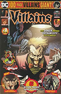 DC Comics 100 Page Giant #1 Wal-Mart Exclusive VILLAINS 2019 VF/NM