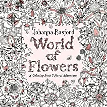 World of Flowers: A Coloring Book and Floral Adventure PDF
