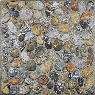Best brown stone floor tiles Reviews