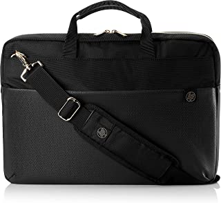 """HP 4QF94AA#ABB 15.6"""" Pavilion Briefcase, Duotone Briefcase, Accent Black/Gold - 4QF94AA"""