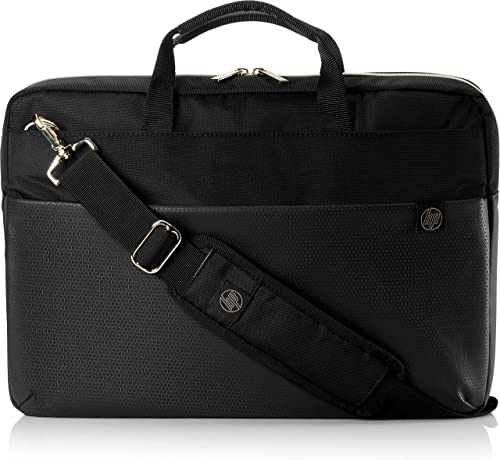HP 4QF94AA 15 6 inch Duotone Laptop Briefcase Gold