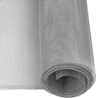 Windhager 03622 Aluminium insectenhor, vliegengaas, aluminium rooster, ideaal voor lichtschachten, robuust, duurzaam, betr...