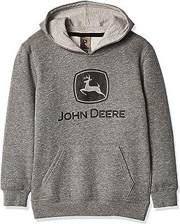 John Deere Boy's Toddler Fleece Pullover Hoodie Hooded Sweatshirt