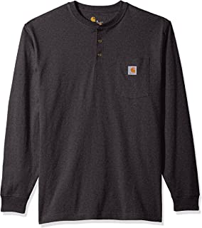 Men's Workwear Pocket Long Sleeve Henley