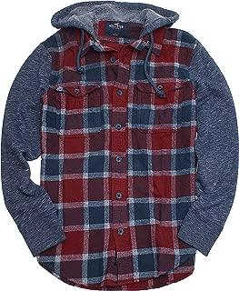 Best hollister hooded flannel shirt Reviews