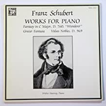 Franz Schubert: Works for Piano (Fantasy in C Major, D. 760