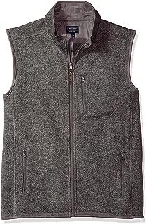 Men's Full Zip Sweater Fleece Vest