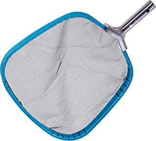 """U.S. Pool Supply Professional Heavy Duty 14"""" Swimming Pool Leaf Skimmer Net with Strong Reinforced Aluminum Frame Handle -..."""