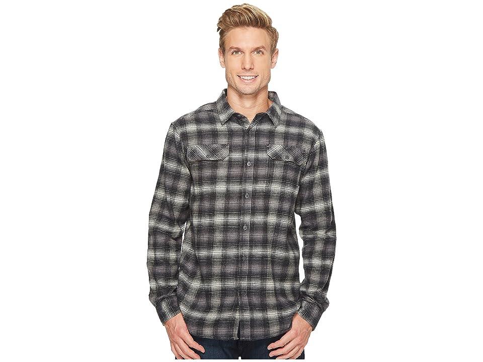Columbia Flare Guntm Flannel III Long-Sleeve Shirt (Flint Grey Ombre) Men