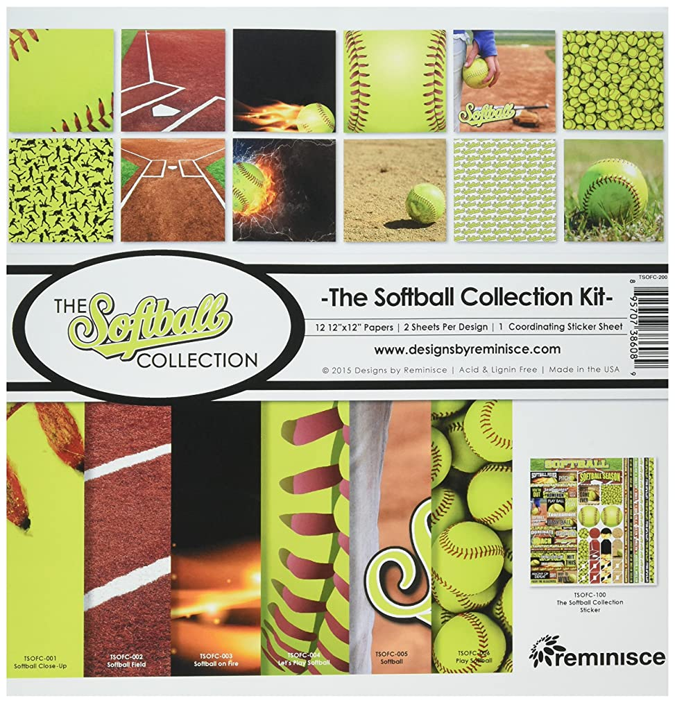 Reminisce The Softball Collection Kit
