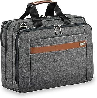 Briggs & Riley Kinzie Street Medium Brief Briefcase, Grey, One Size
