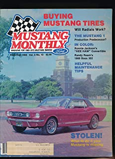 Mustang Monthly Magazine for 1965-1973 Mustang Owners : The 1962 Mustang 1 Prototype Two Seater; Ronnie Jackson