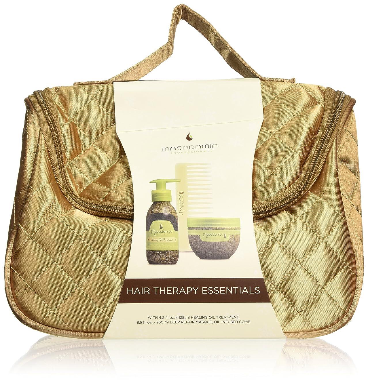 フィラデルフィアフィールドよく話されるMACADAMIA Hair Therapy Essentials - Holiday Travel Bag (並行輸入品)