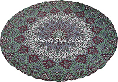 Amazon.com: Stylo Cultura India Manta Roundie Mandala Star ...