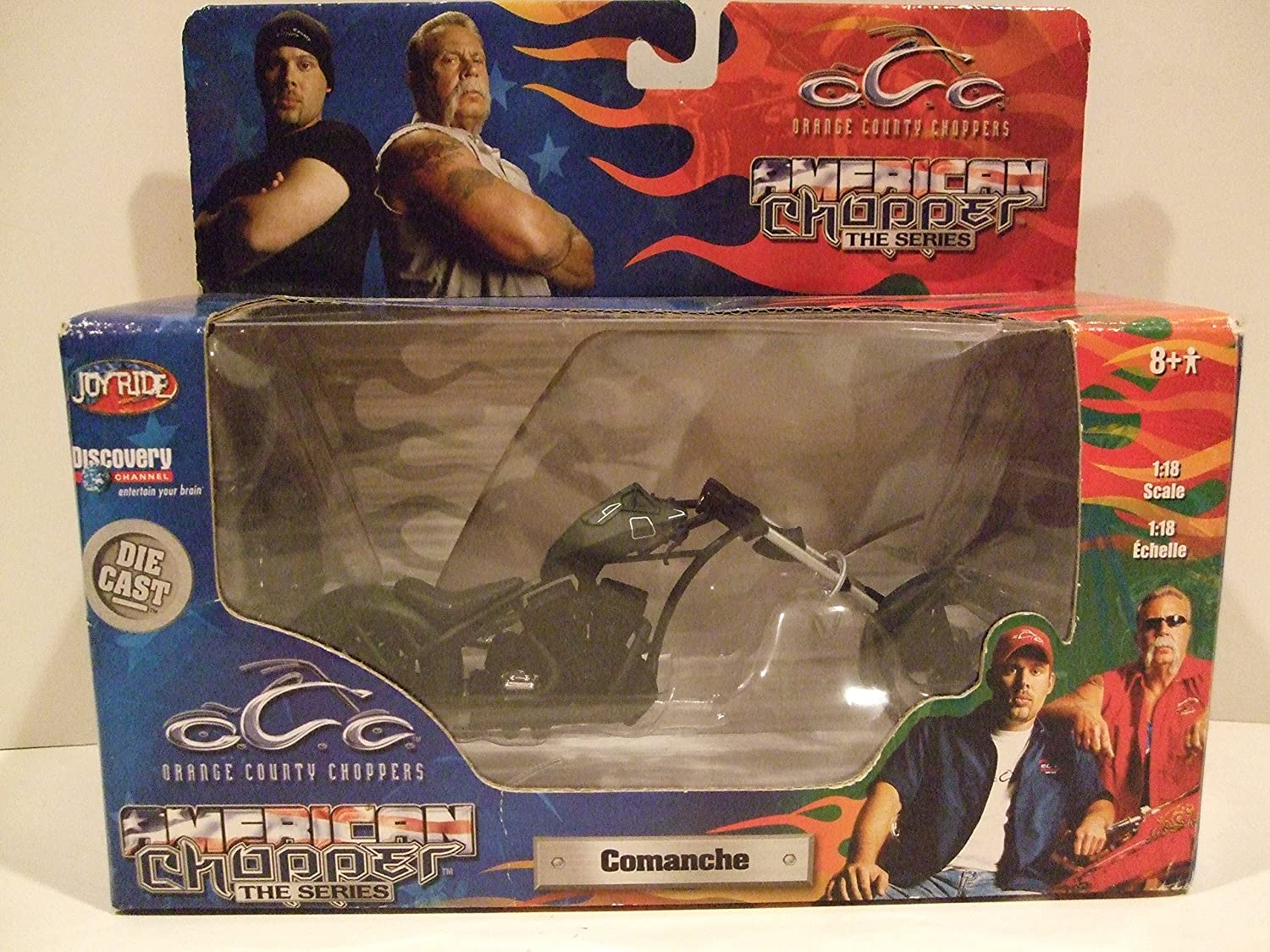 orange County Choppers  Comanche by Discovery Channel