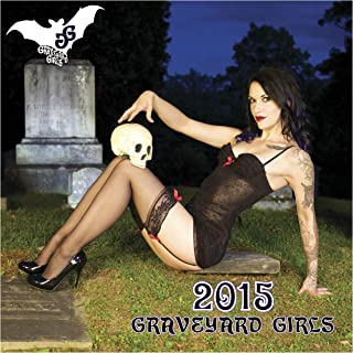 Graveyard Girls 2015 12-month Goth-Cake Pinup Wall Calendar