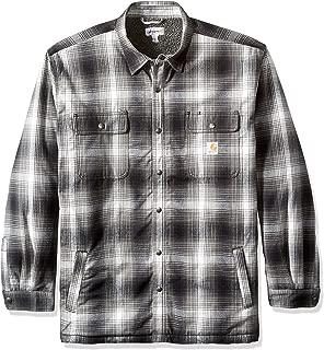 Men's Big & Tall Hubbard Flannel Plaid Sherpa Lined Shirt Jac