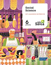 Social Science. 6 Primary. My learning notebook. Más Savia