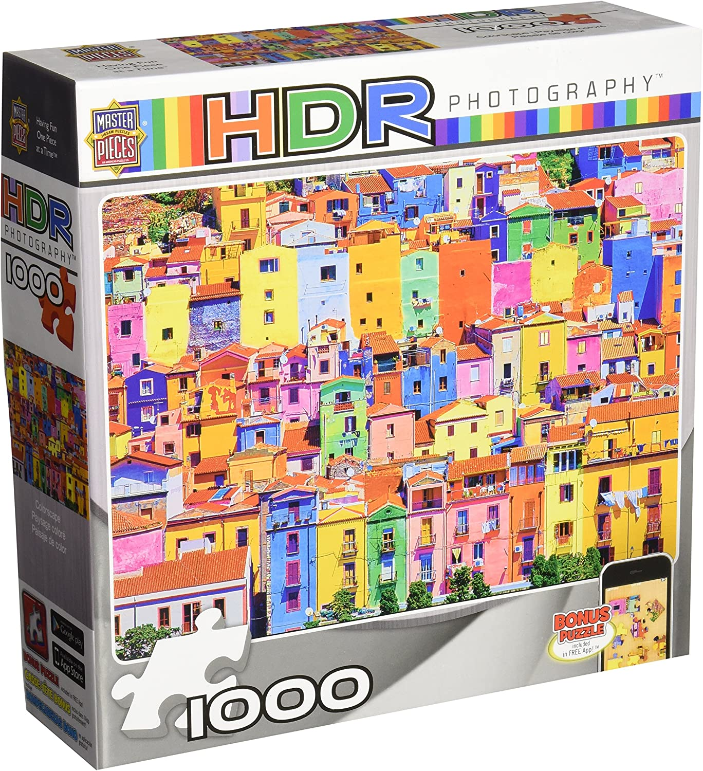 MasterPieces HDR Photography colorscape Jigsaw Puzzle, 1000Piece
