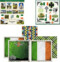 Scrapbook Customs Themed Paper and Stickers Scrapbook Kit, Ireland Sightseeing