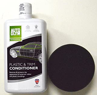 Autoglym Plastic & Trim Conditioner 1 Liter w/Free Sponge Applicator