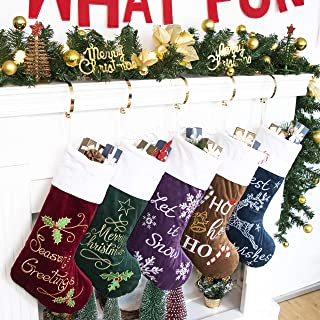 Best christmas stocking set of 5 Reviews