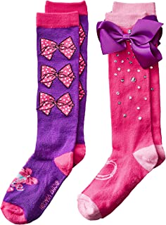 Jojo Siwa Big Girl's 2 Pack Knee High Socks
