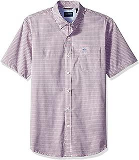 Men's Short Sleeve Button-Down Comfort Flex Shirt