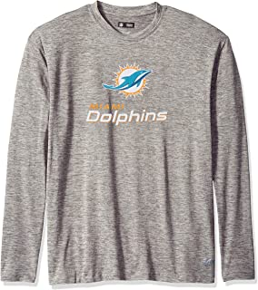 Zubaz Men's Officially Licensed NFL Solid Gray T Shirts