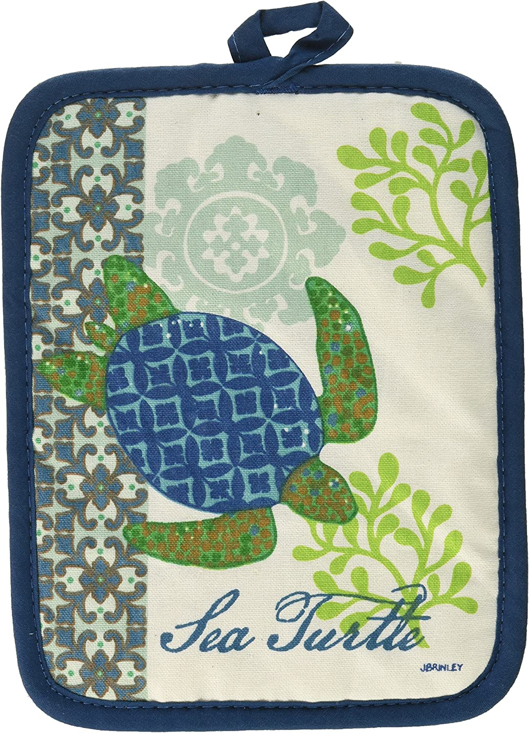 Kay Ranking Year-end annual account TOP11 Dee Designs Turtle Potholder Sea