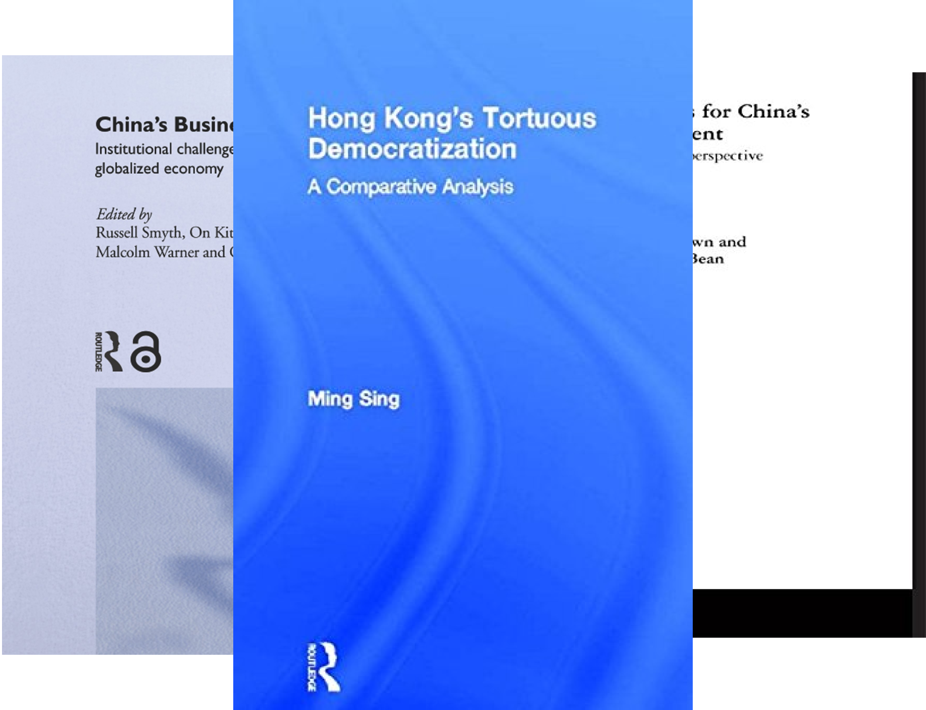Routledge Contemporary China Series (50 Book Series)