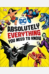 DC Comics Absolutely Everything You Need To Know Hardcover