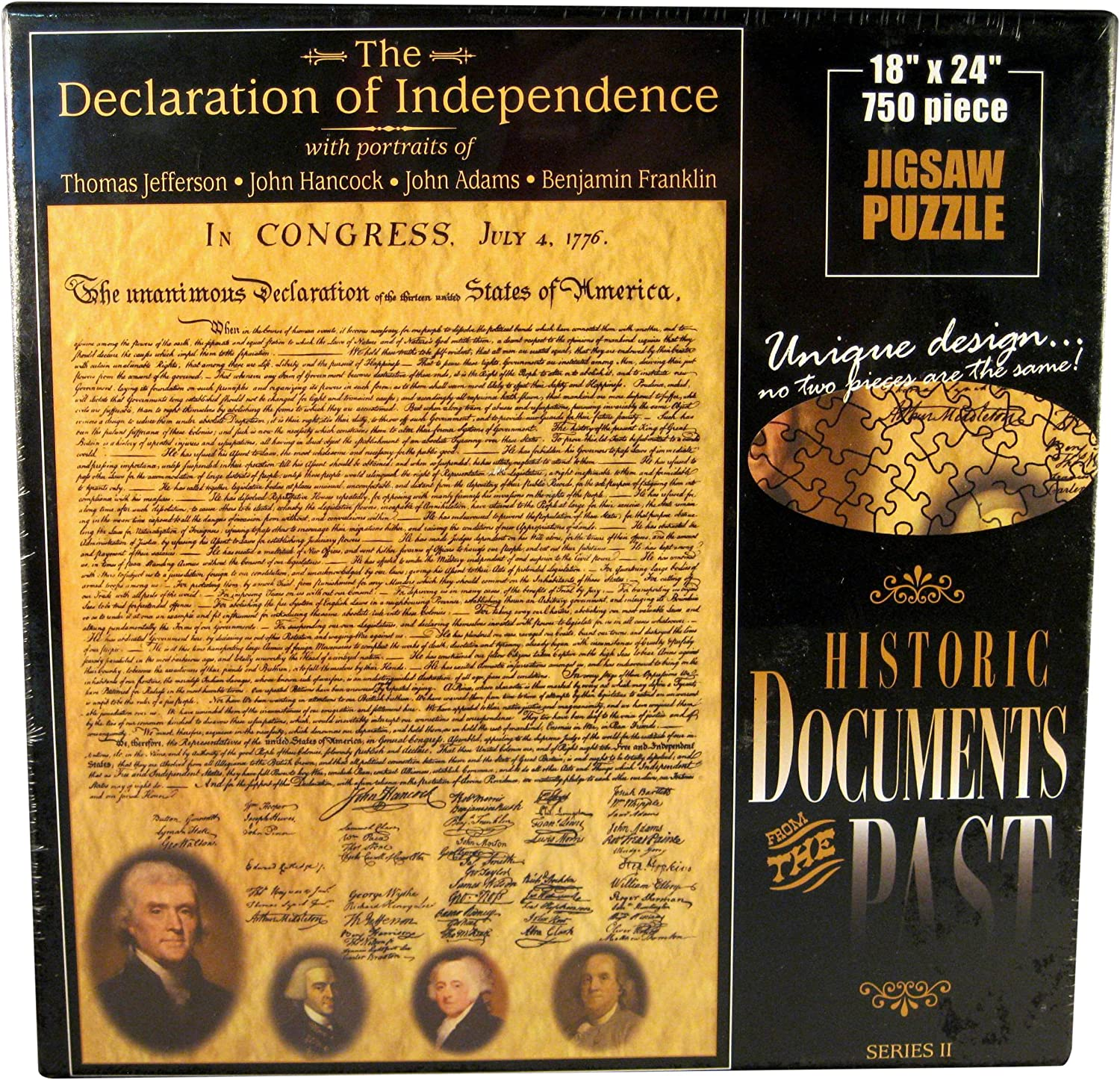American Documents The Declaration of Independence Jigsaw Puzzle, 750Piece by American Documents