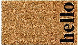 Calloway Mills 102612436NBB Vertical Hello Doormat, 24