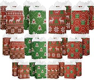large christmas gift bags bulk