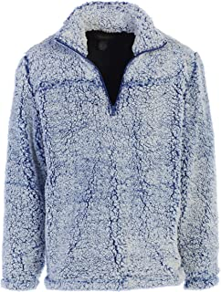 Men and Women Super Soft Sherpa 1/4 Zip Pullover Sweater