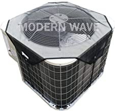 Modern Wave Premium Heavy Duty Central Air Conditioner Cover for Outside Units - Top Summer Outdoor AC Cover Defender (Mesh, 36