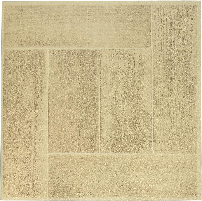 Achim Home Furnishings FTVWD23020 Nexus Self Adhesive 20 Vinyl Floor Tiles, 12