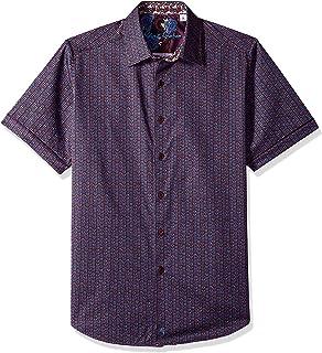 Robert Graham Men's Westward Short Sleeve Classic Fit Shirt