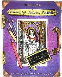 Sacred Art Coloring Portfolio - Saints of The Arts