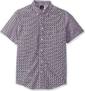 Men's Adaptive Magnetic Short Sleeve Button Shirt Custom Fit