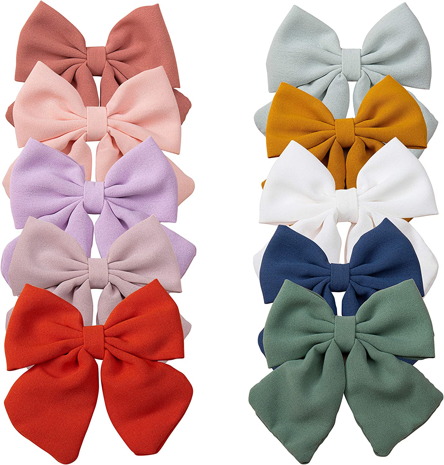 Baby Hair Max 69% OFF Clips with Ho Barrettes Alligator Bows discount