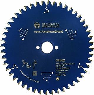 Bosch Professional Cirkelsågblad Expert for Laminated Panel (lamam, 165 x 20 x 2,6 mm, 48 tänder, tillbehör cirkelsåg)
