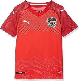 PUMA Unisex Kinder Austria Home Replica Shirt Trikot